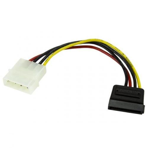 StarTech.com Cable Adaptador de Alimentación Molex a SATA, 15cm