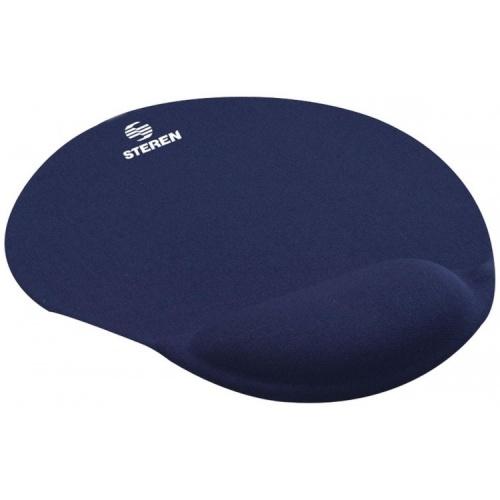 Mousepad Steren con Descansa Muñecas COM-040, 22 x 25.5cm, Azul