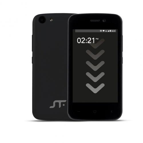 Smartphone STF Mobile Block Go Mini 4'', 480 x 800 Pixeles, 3G, Android 8.1, Negro