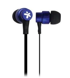 Stylos Audífonos Intrauriculares con Micrófono STSAUA1A, Alámbrico, 1.2 Metros, 3.5mm, Azul