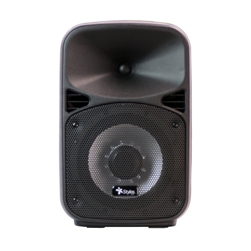 Stylos Bocina Baffle 8 PRO, Bluetooth, Inalámbrico, 30W RMS, USB, Negro