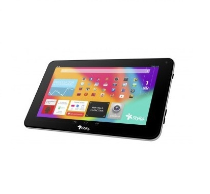 "Tablet Stylos Taris 2.0 7"", 8GB, 800 x 480 Pixeles, Android 4.4, Bluetooth 3.0, Negro/Plata"