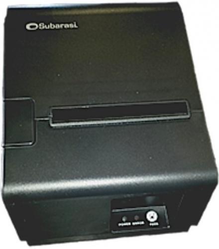 Subarasi  PS24 Impresora de Tickets, Térmico, 203 x 203 DPI, Alámbrico, Negro