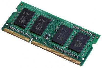 Memoria RAM Super Talent DDR3, 1600MHz, 8GB, CL11, SO-DIMM