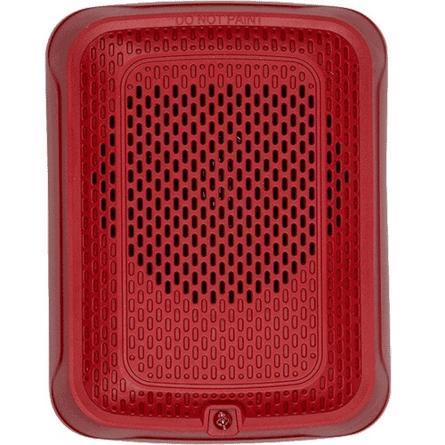 System Sensor Bocina para Montaje en Pared, 2W, Rojo