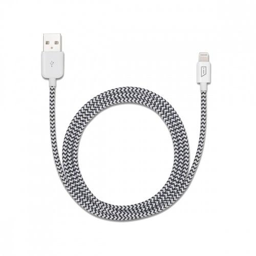 Targus Cable Lightning Macho - USB A Macho, 1.2 Metros, Plata