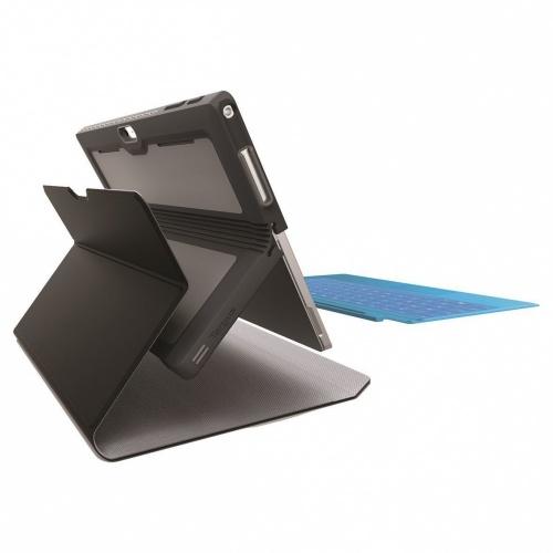 Targus Funda de TPU THZ618GL, Negro, para Microsoft Surface Pro 4