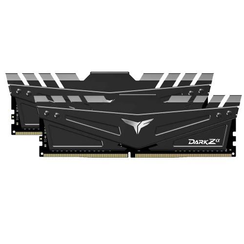 Kit Memoria RAM Team Group DARK Zα DDR4, 3600MHz, 16GB (2x 8GB), Non-ECC, CL18, 1.35V