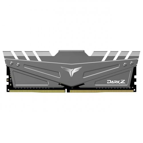 Memoria RAM Team Group T-FORCE DARK Z Gray DDR4, 3200MHz, 8GB, Non-ECC, CL16, XMP, 1.35V