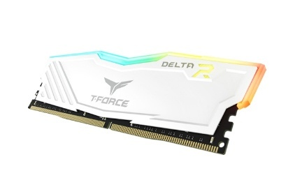 Memoria RAM Team Group TF4D48G3200HC16C01 White DDR4, 3200MHz, 8GB, Non-ECC, CL16, 1.35V