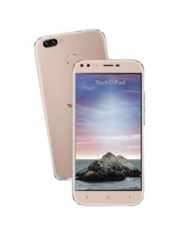 Smartphone TechPad M6 Plus 5.5'', 1280 x 720 Pixeles, 3G, Android 7.0, Oro Rosa
