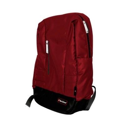 Tech Zone Mochila de Nílon TZ16LBP22 para Laptop 15.6'' Negro/Rojo