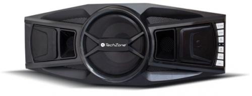 TechZone Bocina con Subwoofer TZ18BOC03BT, Bluetooth, Alámbrico, 2.1 Canales, 80W RMS, USB, Negro
