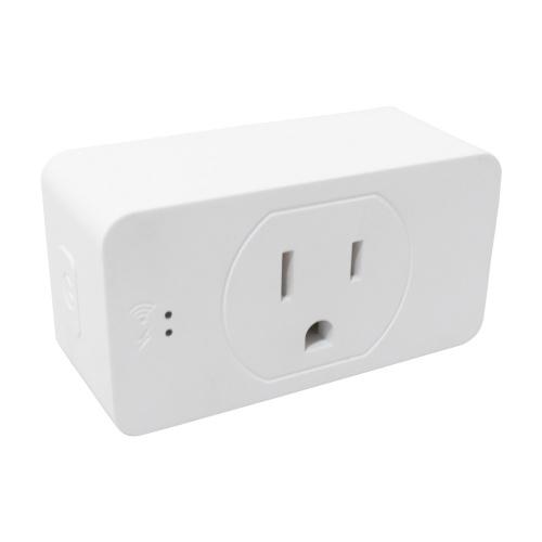 TechZone Smart Plug TZSWTSH01, WiFi, 1 Conector, 100 - 240V, Blanco
