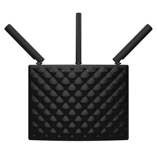 Router Tenda de Banda Dual AC1900 AC15, Inalámbrico, 600/1300 Mbit/s, 2.4GHz/5GHz, 3 Antenas de 3dBi