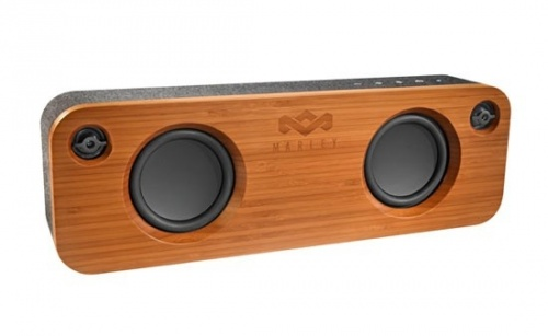 House of Marley Bocina Get Together, Bluetooth, Inalámbrico, Gris/Madera