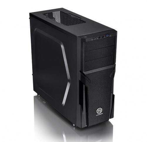 Gabinete Thermaltake Versa H21, Midi-Tower, ATX/micro-ATX, USB 2.0/3.0, sin Fuente, Negro