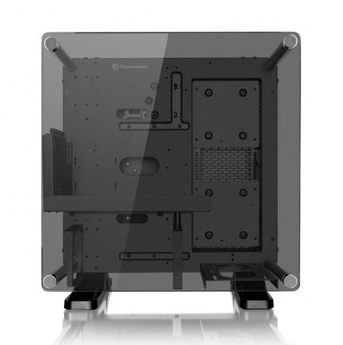 Gabinete Thermaltake Core P1 TG con Ventana, Mini-Tower, Mini-ITX, USB 3.0, sin Fuente, Gris