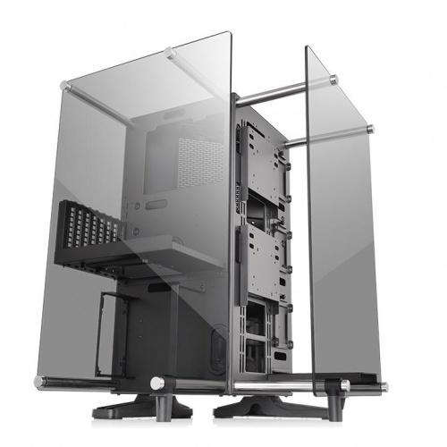 Gabinete Thermaltake Core P90 con Ventana, Midi-Tower, ATX/Micro-ATX/Mini-ITX, USB 2.0/3.0, sin Fuente, Negro