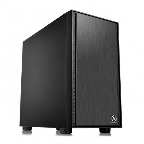 Gabinete Thermaltake Versa H17, Micro-Tower, Micro-ATX,/Mini-ITX, USB 2.0/3.0, con Fuente de 450W, Negro
