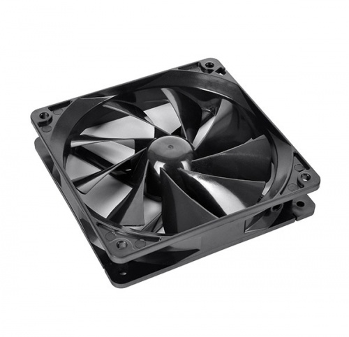 Ventilador Thermaltake Pure 12, 120mm, 1000RPM, Negro