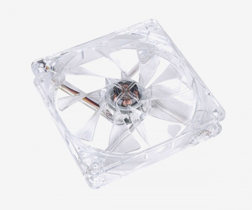 Ventilador Thermaltake Pure 12 LED Rojo, 120mm, 1000RPM, Transparente