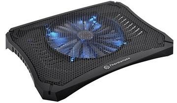 Thermaltake Massive V20 para Laptops 10''-17'', con Ventilador de 800RPM, Negro