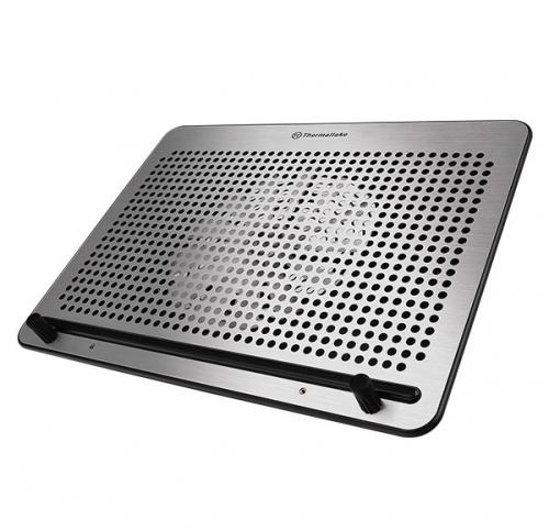 """Thermaltake Base Enfriadora Massive A21 para Laptop hasta 17"""", 1 Ventilador, Aluminio ― ¡Compra y recibe $60 pesos de saldo para tu siguiente pedido!"""
