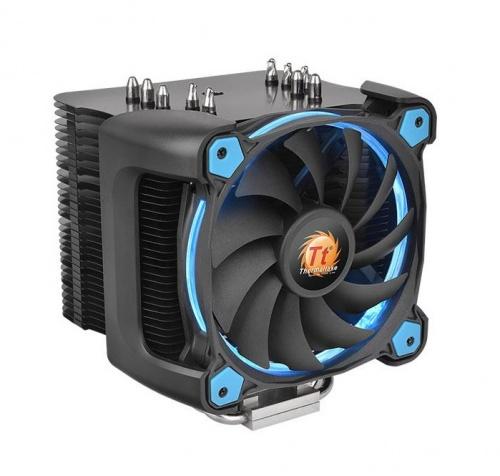 Disipador CPU Thermaltake Riing Silent 12 Pro, 120mm, 300-1400RPM, Azul