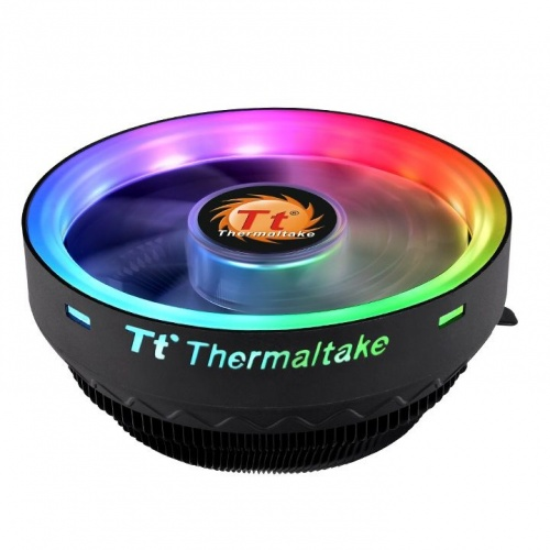 Disipador CPU Thermaltake UX100 ARGB, 120mm, 1800RPM, Negro