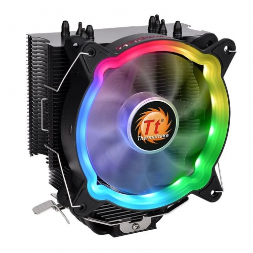 Disipador CPU Thermaltake UX200 ARGB, 120mm, 300 - 1500RPM, Negro