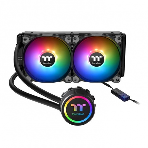 Thermaltake Water 3.0 Enfriamiento Líquido para CPU, 2x 120mm, 500RPM - 1500RPM