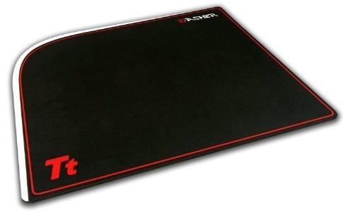 Mousepad Gamer Tt eSPORTS Dasher, 40x32cm, Grosor 4mm, Negro/Rojo ― ¡Compra y recibe $20 pesos de saldo para tu siguiente pedido!