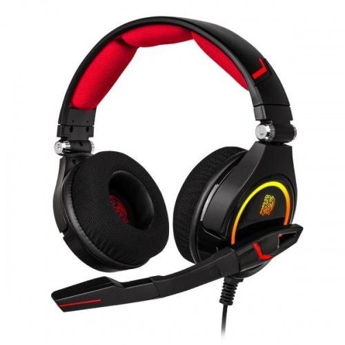 Tt eSPORTS Audifonos Gamer CRONOS RGB 7.1, Alámbrico, 1.8 Metros, 3.5mm, Negro ― ¡Compra y recibe $65 pesos de saldo para tu siguiente pedido!