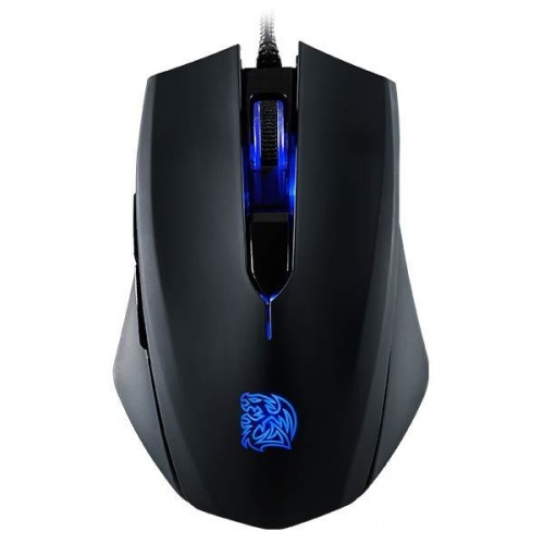 Mouse Gamer Tt eSPORTS Óptico Talon Blu, Alámbrico, USB, 3000DPI, Negro/Azul