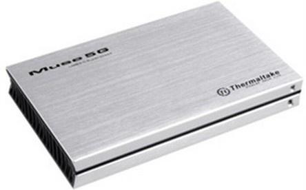Thermaltake Gabinete de Disco Duro Muse 5G, 2.5'', SATA III, USB 3.0, Plata