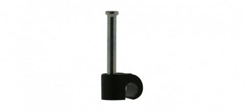 Steren Grapa para Cable 3101-00400, 1.9cm, Negro, 100 Piezas