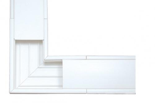 Thorsman Esquinero 5576-12100, PVC, Blanco, 1 Pieza
