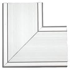 Thorsman Esquinero 8130-80001, Aluminio, Plata, 1 Pieza