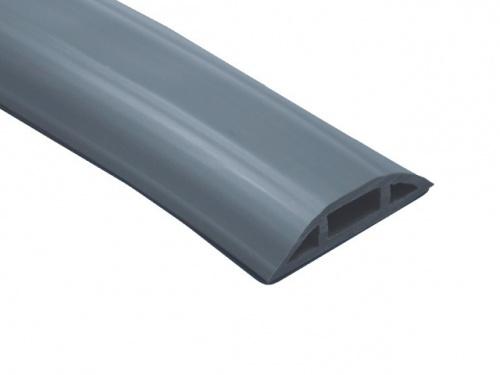 Thorsman Rollo Canaleta Flexible de PVC, Gris, 25 Metros