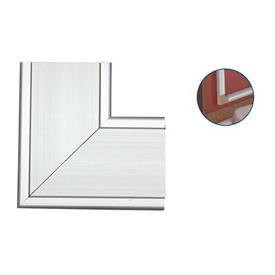 Thorsman Esquinero INKA-140-L, PVC, Blanco, 1 Pieza