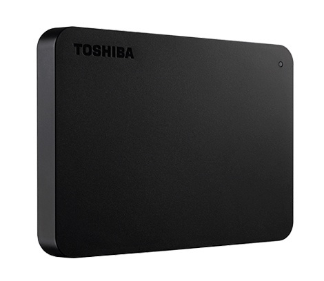 Disco Duro Externo Toshiba Canvio Basics 2.5'', 1TB, USB 3.0, Negro - para Mac/PC