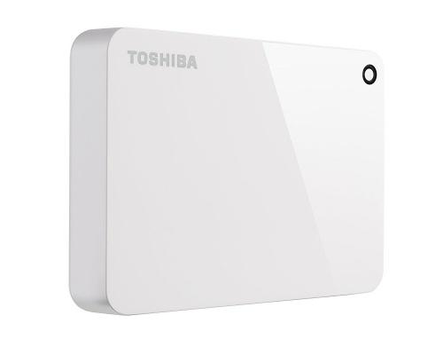 Disco Duro Externo Toshiba Canvio Advance 2.5'', 4TB, USB 3.0, Blanco