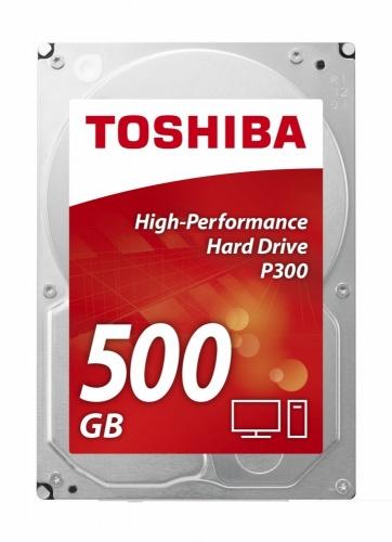 Disco Duro Interno Toshiba P300 3.5'', 500GB, SATA III, 6 Gbit/s, 7200RPM, 64MB Cache