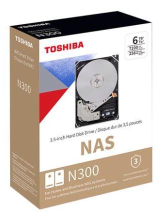 Disco Duro para NAS Toshiba N300 3.5