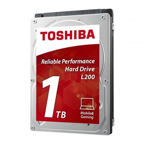 Disco Duro para Laptop Toshiba L200 2.5'', 1TB, SATA II, 5400RPM, 8MB Cache