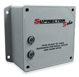 Regulador Total Ground Suprector Soho, 120-220V, Gris