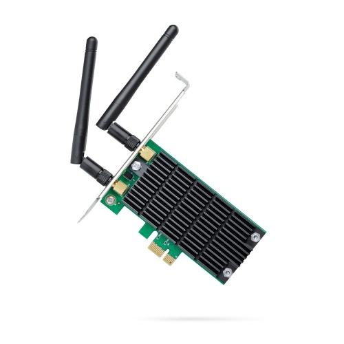 TP-LINK Tarjeta de Red Archer T4E, 867Mbit/s, PCI Express, 2 Antenas