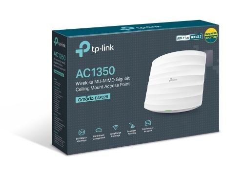 Router TP-LINK Gigabit Ethernet de Doble Banda EAP225, Inalámbrico, RJ-45, 2.4/5GHz