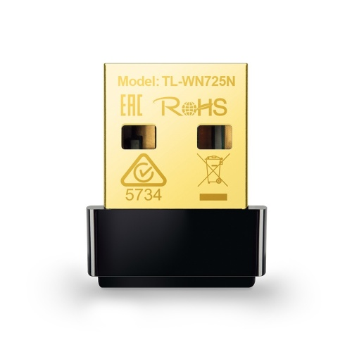 TP-Link Adaptador de Red USB TL-WN725N, Inalámbrico, 2.4 - 2.4835GHz